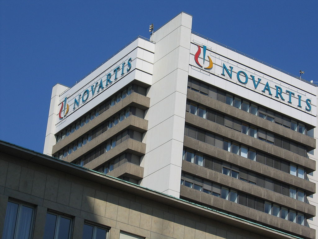Novartis Pharmaceuticals has agreed to pay $390 million to the Department of Justice in order to settle allegations of fraud. | Image Source: Wikimedia Commons