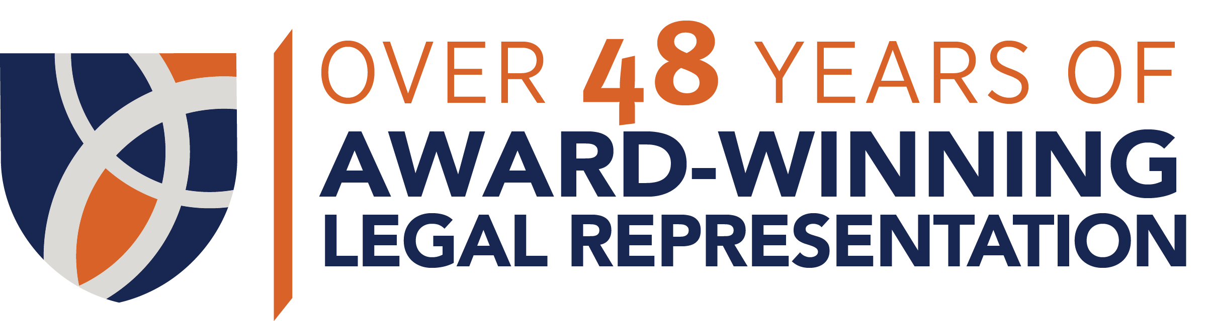Over 48 years of award-winning legal representation